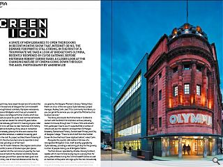 A spate of new libraries to open their doors in recent months show that,  internet or no, the demand for print is still strong. In the first of a  triumvirate we take a look at Bridgeton's Olympia, recently reopened by  Clyde Gateway, before historian Robert Currie takes a closer look at  the changing nature of cinema going down through the ages. Photography  by Andrew Lee.