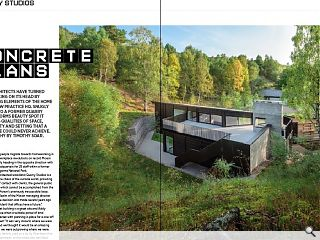 <p>xMoxon Architects have turned home working on its head by introducing elements of the home to their new practice HQ. Snugly slotted into a former quarry in a Cairngorms beauty spot it exemplifies qualities of space, sociability and setting that a home office could never achieve. Photography by Timothy Soar.</p>
