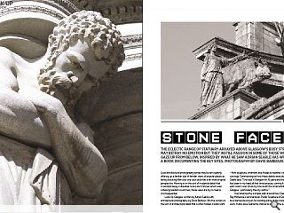 The eclectic range of statuary arrayed above Glasgow&rsquo;s busy streets may  betray no emotion but they instill passion in some of those who gaze up  from below. Inspired by what he saw Adrian Searle has written a book  documenting the key sites. Photography by David Barbour.<br/>