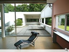 Corbs Villa Savoye - Are you sitting comfortably?