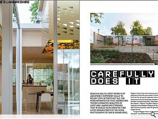 Reiach & Hall's latest work is of an entirely different scale to recent civic efforts but all the more intimate for that. Harnessing the recuperative qualities of light and landscape it proves that in health as in architecture good design starts in the home. Photography by David Grandorge.
