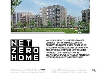 <p>Housebuilder CCG is leveraging its construction and manufacturing  business to power a new generation of carbon neutral homes designed to  prioritise comfort and low running costs but can this solution be  delivered at scale to meet an ambitious net zero economy target by 2045?</p>