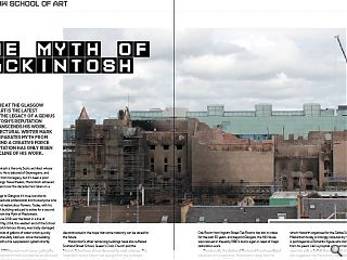 <p>A second fire at the Glasgow School of Art is the latest affront to the  legacy of a genius but mackintosh&rsquo;s reputation already transcends his  work. Here architectural writer Mark Chalmers separates myth from  reality behind a creative force whose reputation has only risen with the  decline of his work.</p>
