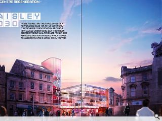 <p>Paisley is meeting the challenges of a new decade head-on after setting  out its vision for consolidation around a revitalised urban core. Can  this urban blueprint serve as a template for others amid a decimation of  retail which is only accelerating amid a Covid-19 shutdown?</p>