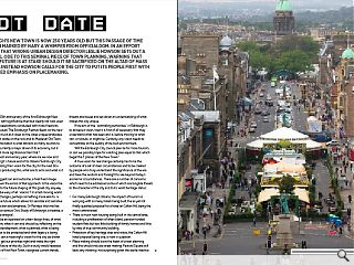 Edinburgh's new town is now 250 years old but this passage of time  has been marked by nary a whimper from officialdom. In an effort to  right that wrong urban design director Leslie Howson sets out a personal  ode to this seminal piece of town planning, warning that its very  future is at stake should it be sacrificed on the altar of mass tourism.  Instead Howson calls for the city to put its people first with a  renewed emphasis on placemaking.