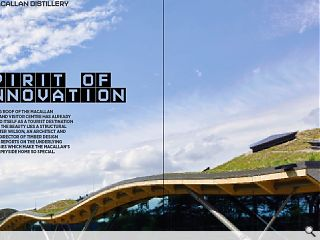 <p>The rolling roof of the Macallan Distillery and Visitor Centre has  already established itself as a tourist destination but behind the  beauty lies a structural marvel. Peter Wilson, an architect and managing  director of Timber Design Initiatives, reports on the underlying  technologies which make the Macallan&rsquo;s sweeping Speyside home so  special..</p>