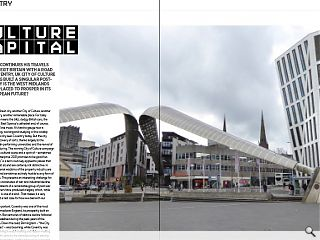 John Lord continues his travels around Brexit Britain with a road trip  to Coventry, UK City of Culture 2021. Having built a singular post-war  legacy is the West Midlands city well placed to prosper in its  post-European future?