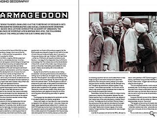 Yellow Book founder John Lord is at the forefront of research into the unprecedented demographic and social changes now sweeping Britain. Based on a lecture given at the Academy of Urbanism, the Changing Face of Everyday Life in Britain 1950-2010, the following text looks at the implications for our towns and cities.