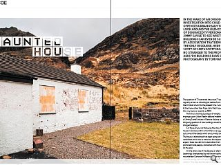 In the wake of an ongoing investigation into child sex offences Urban  Realm took a look around the Glen Coe home of disgraced tv personality  Jimmy Savile to see whether buildings can ever be so blighted by  association that demolition is the only recourse. Here Alistair Scott of  Smith Scott Mullan, no stranger to the property, asks 'do buildings  have souls?' Photography by Tom Manley.