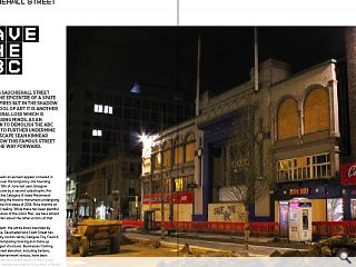 <p>Glasgow&rsquo;s Sauchiehall Street has been the epicentre of a spate of recent  fires but in the shadow of the School of Art it is another  architectural loss which is now focussing minds. As an application to  demolish the ABC threatens to further undermine the streetscape Sean  Kinnear looks at how this famous street can pave the way forward.</p>