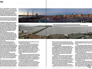 Dundee is a city in flux as its waterfront ambitions make the leap from  drawing board to reality. These changes are beginning to have a profound  impact on the city's relationship with the river, a brutal process  which Mark Chalmers describes as the 'unmaking of modernism'. Here  Chalmers sifts through the rubble and takes stock of the transition.