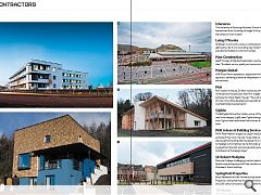 PAN Joiners Leijser House (bottom left) stands out as an example of contractors engaged in the design process from the start. Note that the print edition of this article carried a mislabelled image