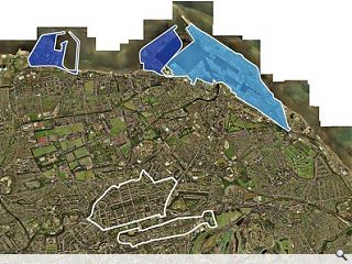 <strong>THE WATERFRONT: A String of seperately planned development sites... or Edinburgh's New New Town?</strong>