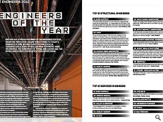 Britain has a proud history of engineering success, from the first steel  frame structures to today&rsquo;s embrace of bim. Behind every technological  advance lies a team of skilled practitioners. Here we profile the  foremost of those and showcase the work which best exemplifies their  profession.<br/>