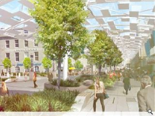 Aberdeen's Union Street may be in dire shape but one man thinks he has  the solution to reverse the thoroughfare's spiralling fortunes. Stepping  into the void created by the city's failed planning system John  Halliday takes matters into his own hands with a lofty vision for a  glazed 'umbrella,' but does it deliver? We give our verdict.