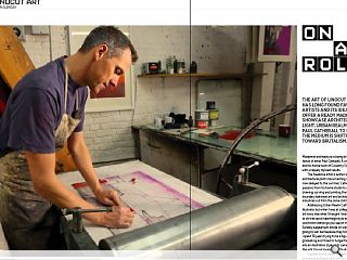<p>The art of linocut printmaking has long found favour among artists and  its idealised designs offer a ready made canvas to showcase architecture  in a new light. Urban Realm spoke with Paul Catherall to explore how  the medium is shifting attitudes toward Brutalism.</p>