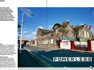 <p>Sean Kinnear pays a visit to Kirkcaldy&rsquo;s doomed Old Victoria Power  Station, seat of a long-running demolition battle between its owners and  conservationists. in the process he kickstarts a wider discussion about  the fife town&rsquo;s forgotten industrial legacy. Photographs by Mark  Chalmers</p>