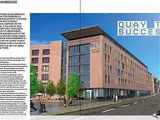 The latest phase of an ambitious master plan for Edinburgh's  Fountainbridge district, Fountain Quay, is now out to public  consultation. Centred on the union canal it is a site of real potential,  knitting together a broken piece of urban fabric, but do the plans  match up to the city's proud history? Here urban designer Leslie Howson  brings us up to speed on the latest goings on and ponders how little  we've learned since the days of James Craig's New Town.