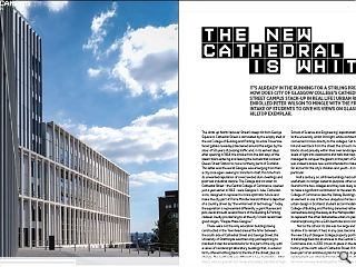 It's already in the running for a Stirling Prize but how does City of Glasgow College's Cathedral Street Campus stack-up in real life? Urban Realm enrolled Peter Wilson to mingle with the first intake of students to give his views on the city's very own ivory tower.<br/>
