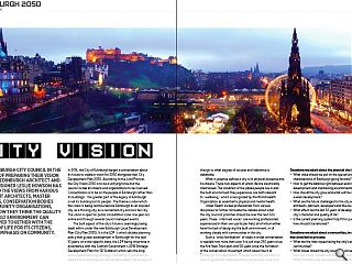 <p>With Edinburgh City Council in the process of preparing their vision  2050 for Edinburgh architect and urban designer Leslie Howson has  gathered the views from various prominent architects, master planners,  conservation bodies and community organisations. Here they detail how  they see the quality of the built environment can be improved together  with the quality of life for its citizens, with an emphasis on  community.</p>