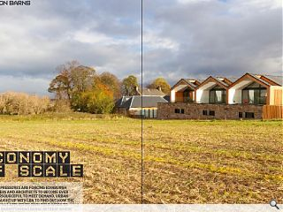 <p>Housing pressures are forcing Edinburgh developers and architects to  become ever more rersourceful. Urban Realm caught up with LBA to find  out how the practice has applied its own field work to create a  barnstorming rural retreat where space is at a premium.</p>