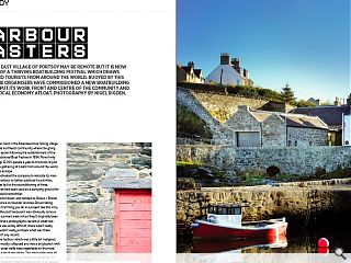 The north east village of Portsoy may be remote but it is now the heart  of a thriving boatbuilding festival which draws sailors and tourists  from around the world. Buoyed by this success the organisers have  commissioned a new boatbuilding centre to put its work front and centre  of the community and keep the local economy afloat. Photography by Nigel  Rigden.
