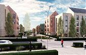 Sighthill Residential Masterplan Visualisation 01