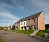 Passivhaus homes, John Gilbert Architects, Stewart & Shields and Nith Valley Leaf Trust