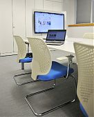 RWE npower, Steelcase media:scape collaboration meeting room.
