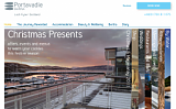 Portavadie Marina website design