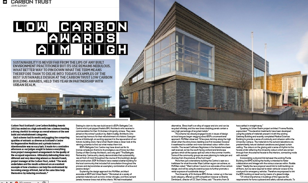 The blueprint to a low-carbon construction industry