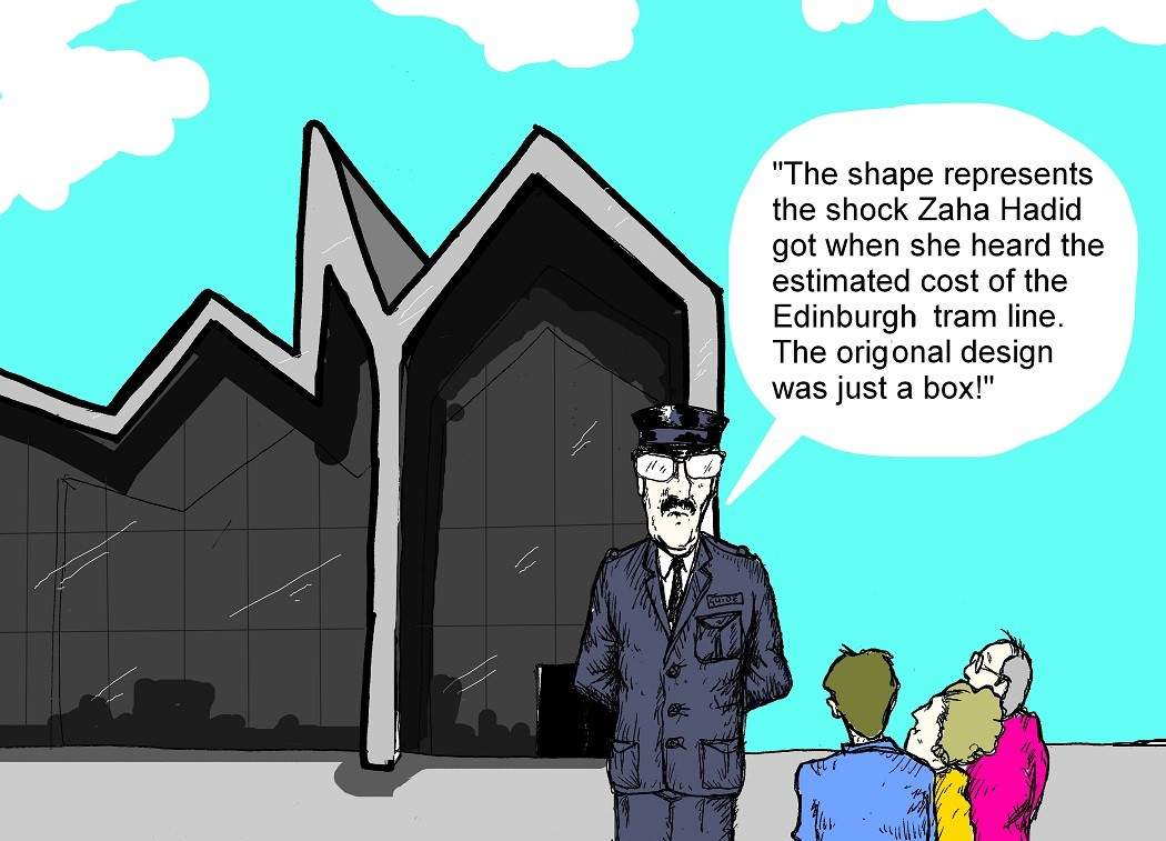 Cartoon Cavalcade   October 2011   Features  U0026 Reports   Architecture In Profile The Building