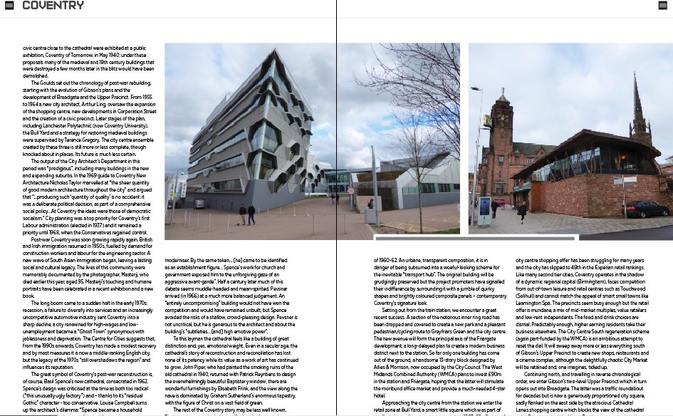 Coventry Culture Capital April 2018 Features