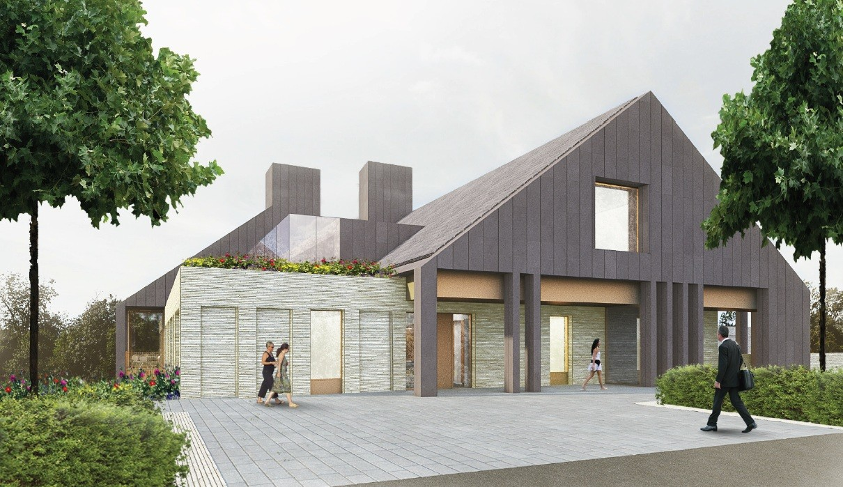 nord submit bellahouston park hospice plan march 2013 news architecture in profile the. Black Bedroom Furniture Sets. Home Design Ideas