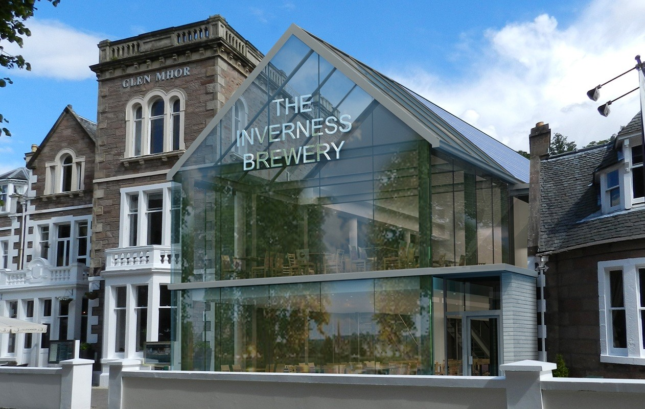 Inverness Brewery Design Unveiled June 2014 News