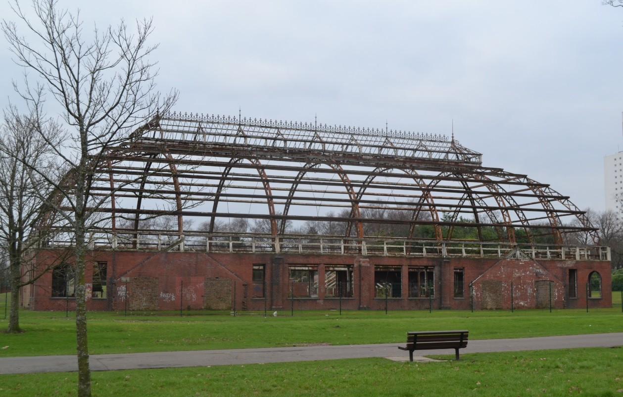 gia launch springburn winter gardens design competition july