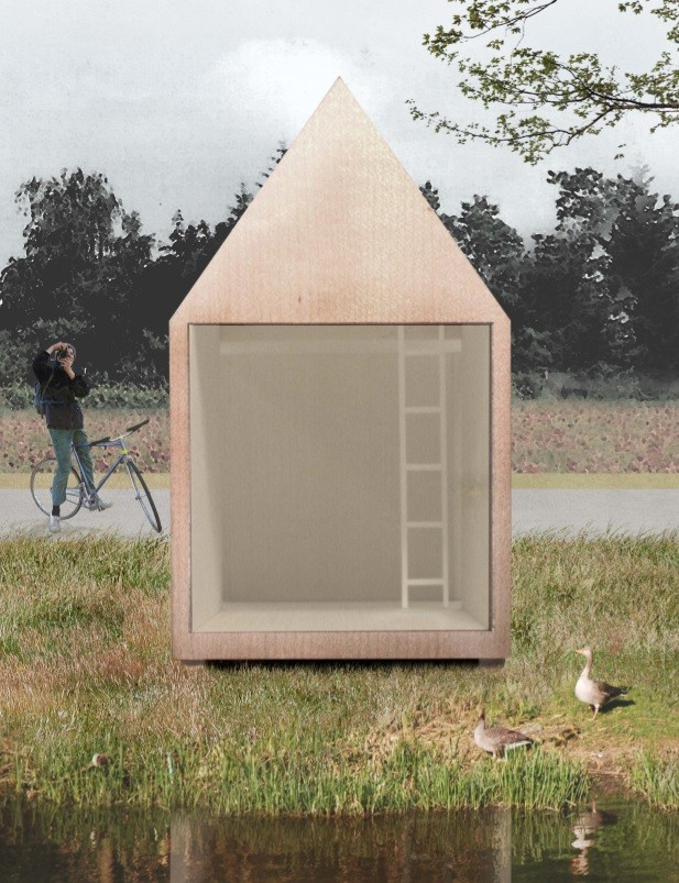 dundee graduate wins french micro architecture competition. Black Bedroom Furniture Sets. Home Design Ideas