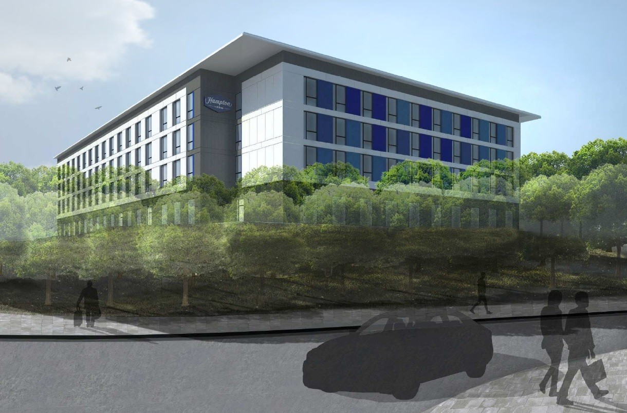 Ica Rolls The Dyce With Aberdeen Hotel Plan