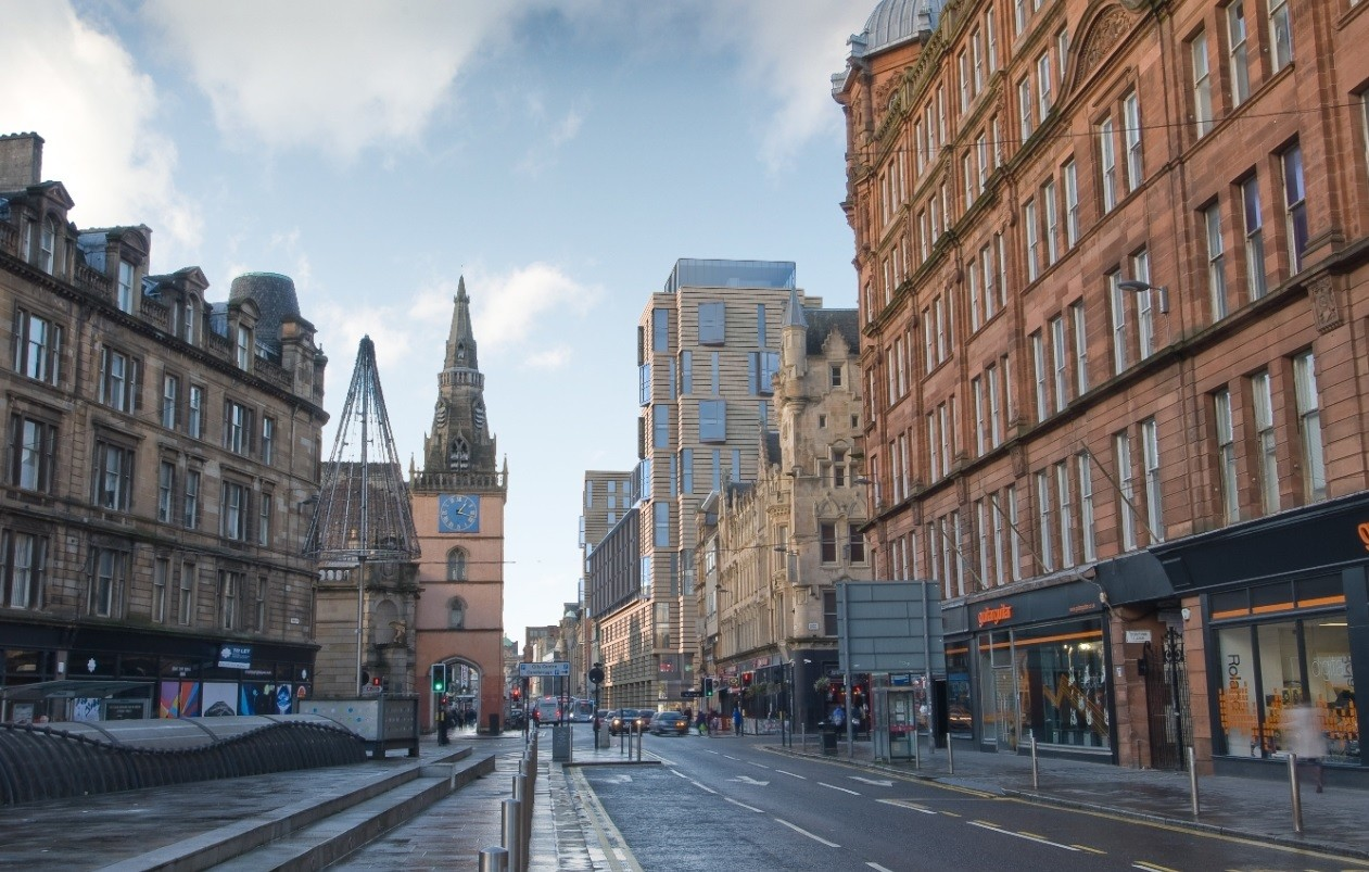 Glasgow's Merchant City on the up with Candleriggs Quarter ...