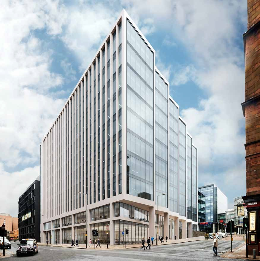 180000sq Ft Office Scheme To Complete Glasgow City Block