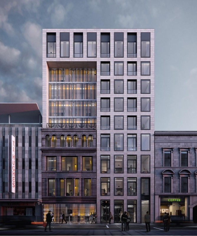 Glasgow Apartments: Trongate Apartments Proposal Given All-clear By Planners