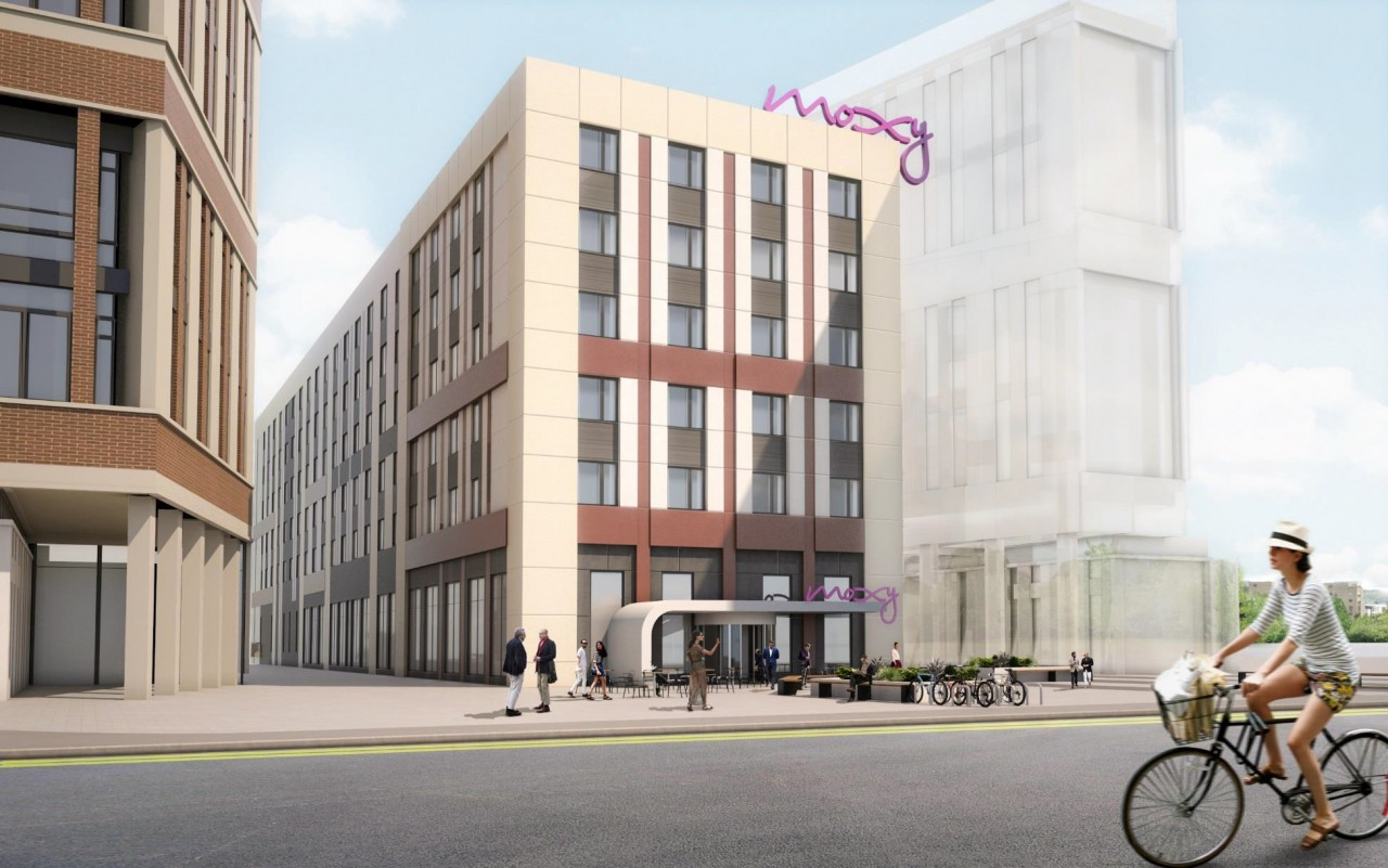 Moxy hotels firm up glasgow venture july 2016 news for Design hotel glasgow