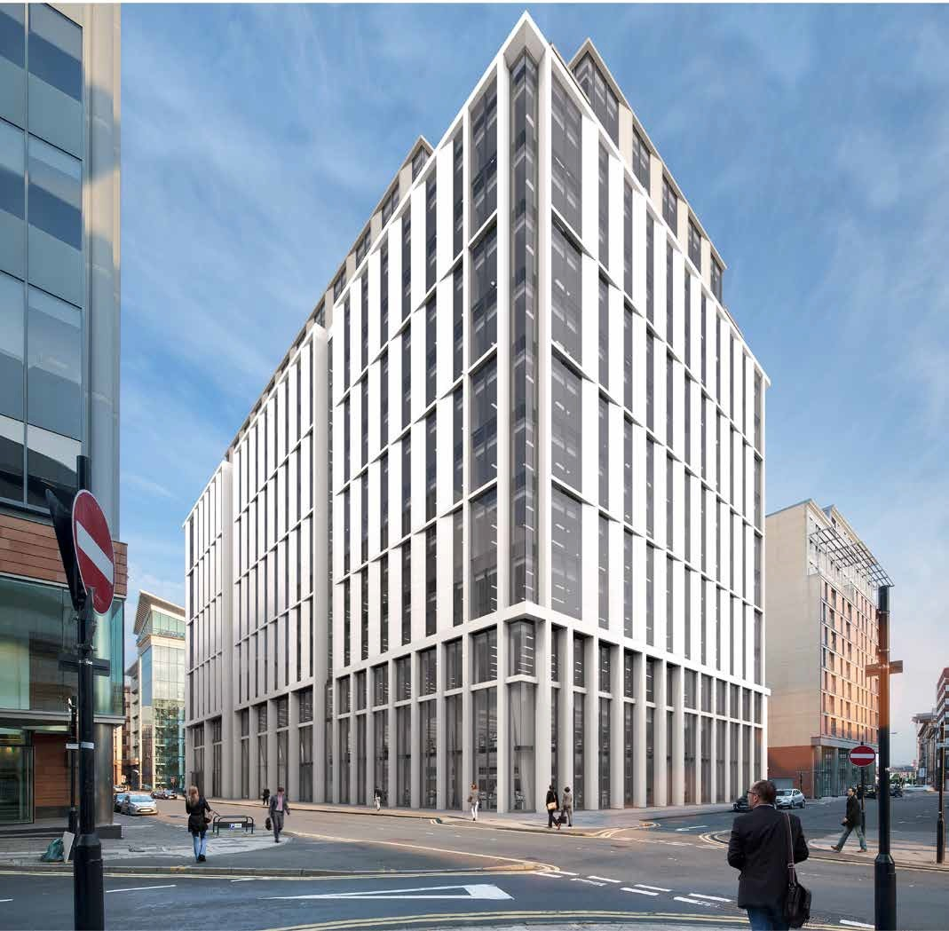 Glasgow's West Campbell Street Shapes Up As New Office