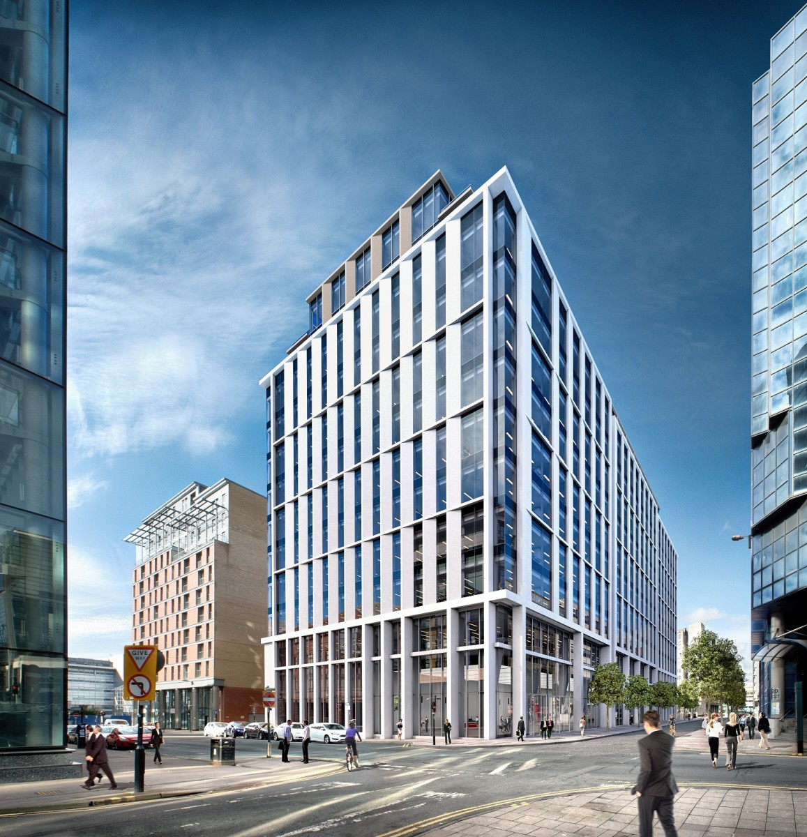 build a office. Glasgow Office Build To Plug Supply Shortfall After Securing Go-ahead A 1