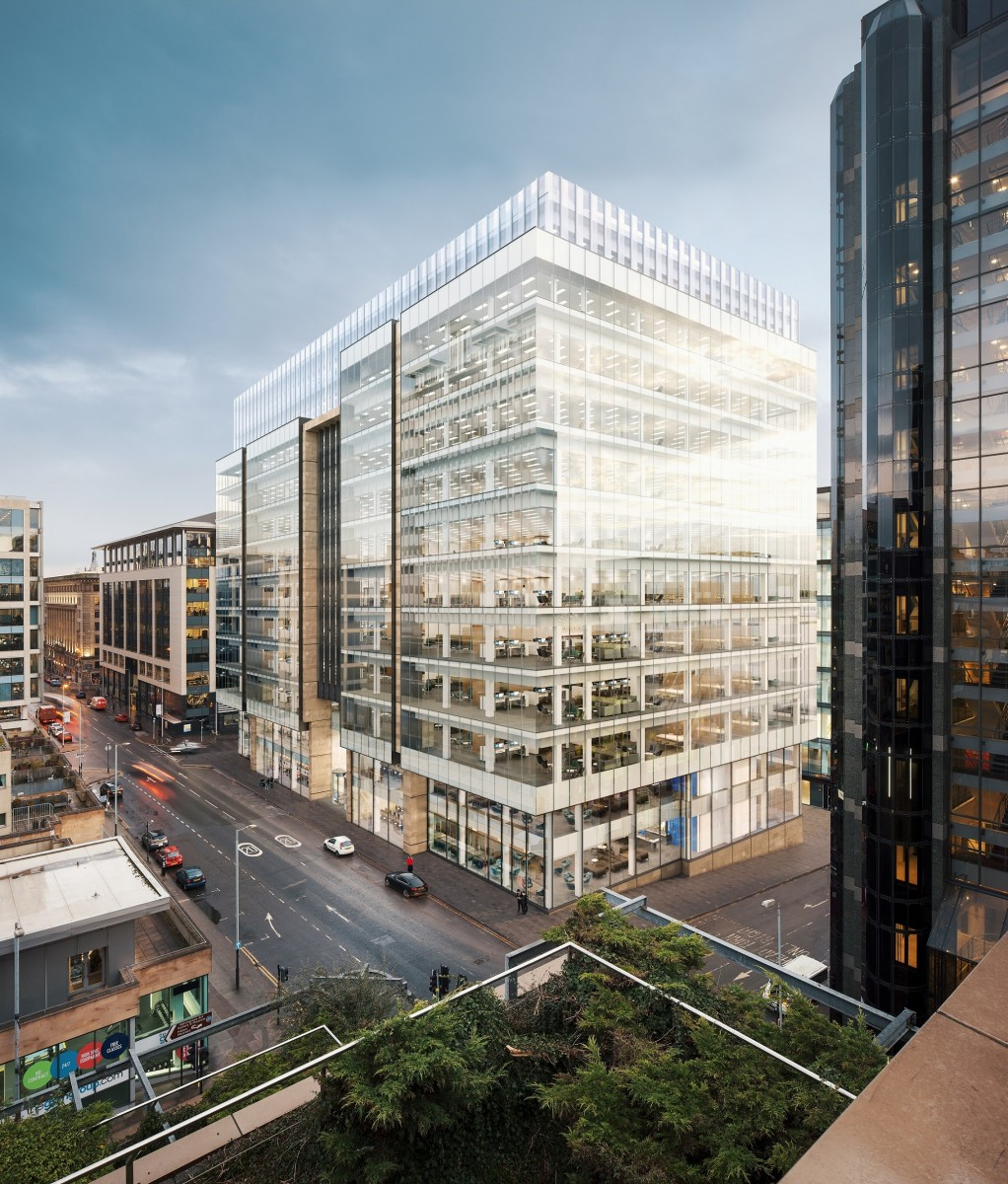 Investors Sought For £137m Glasgow Office Block : March