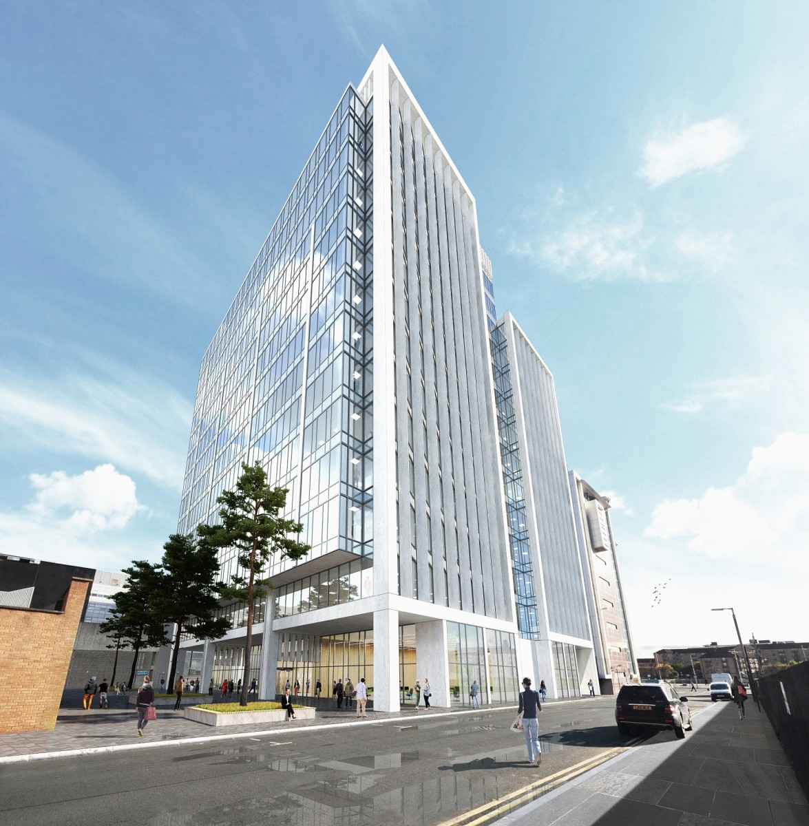 Glasgow's Office Pipeline Extended By Carrick Quay