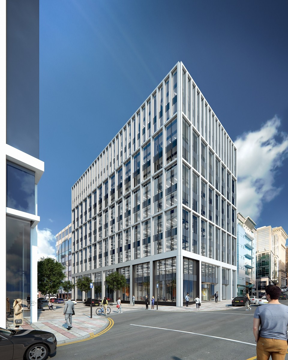 Record Office Take-up Drives Speculative Glasgow Build