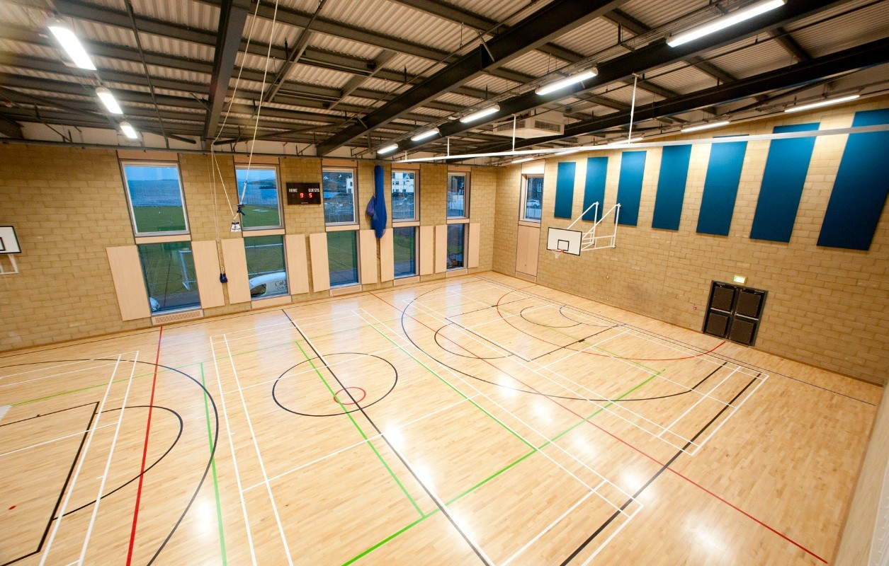 Twin western isles schools progress march 2012 news for Building a basketball court