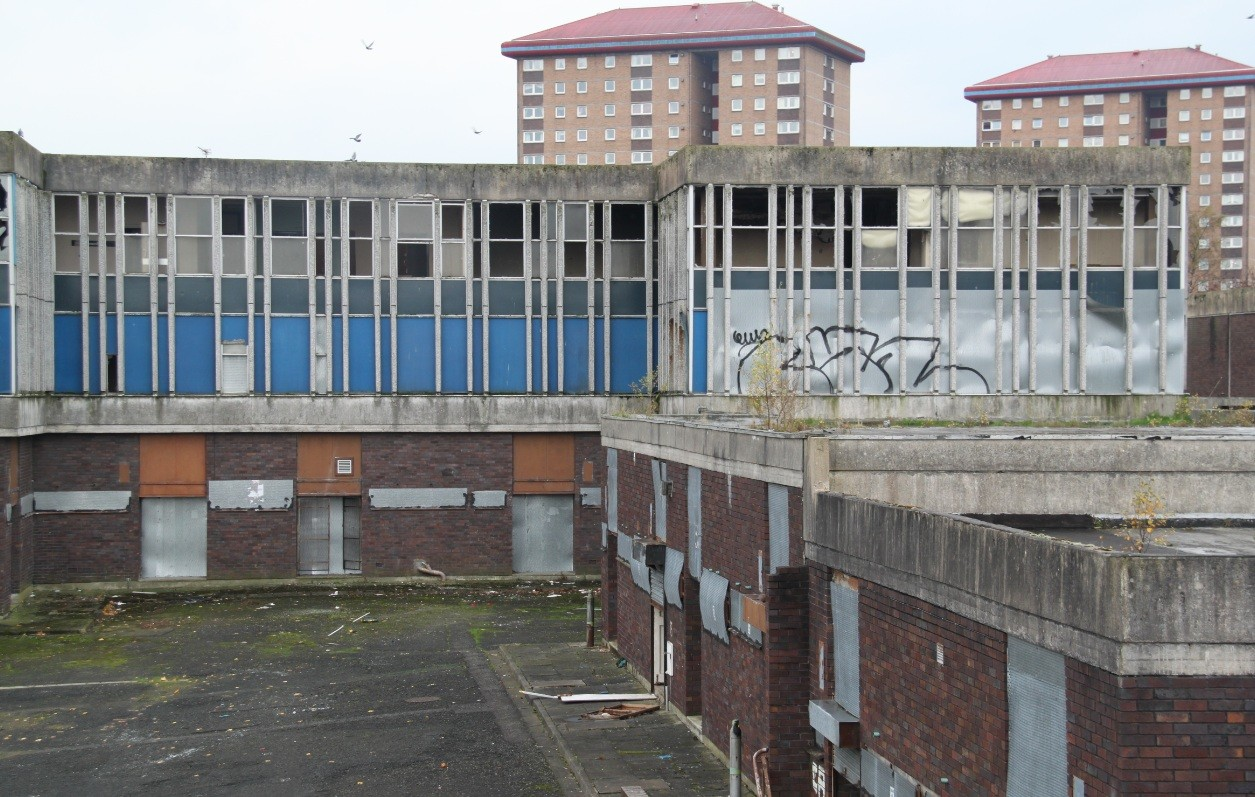 Tesco to begin demolition of Linwood town centre : April 2012 ...