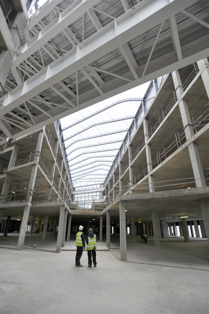 Scottish Crime Campus Shell Completed May 2012 News